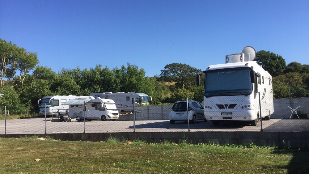 Aire camping-car à Baubigny (50270) - Photo 1